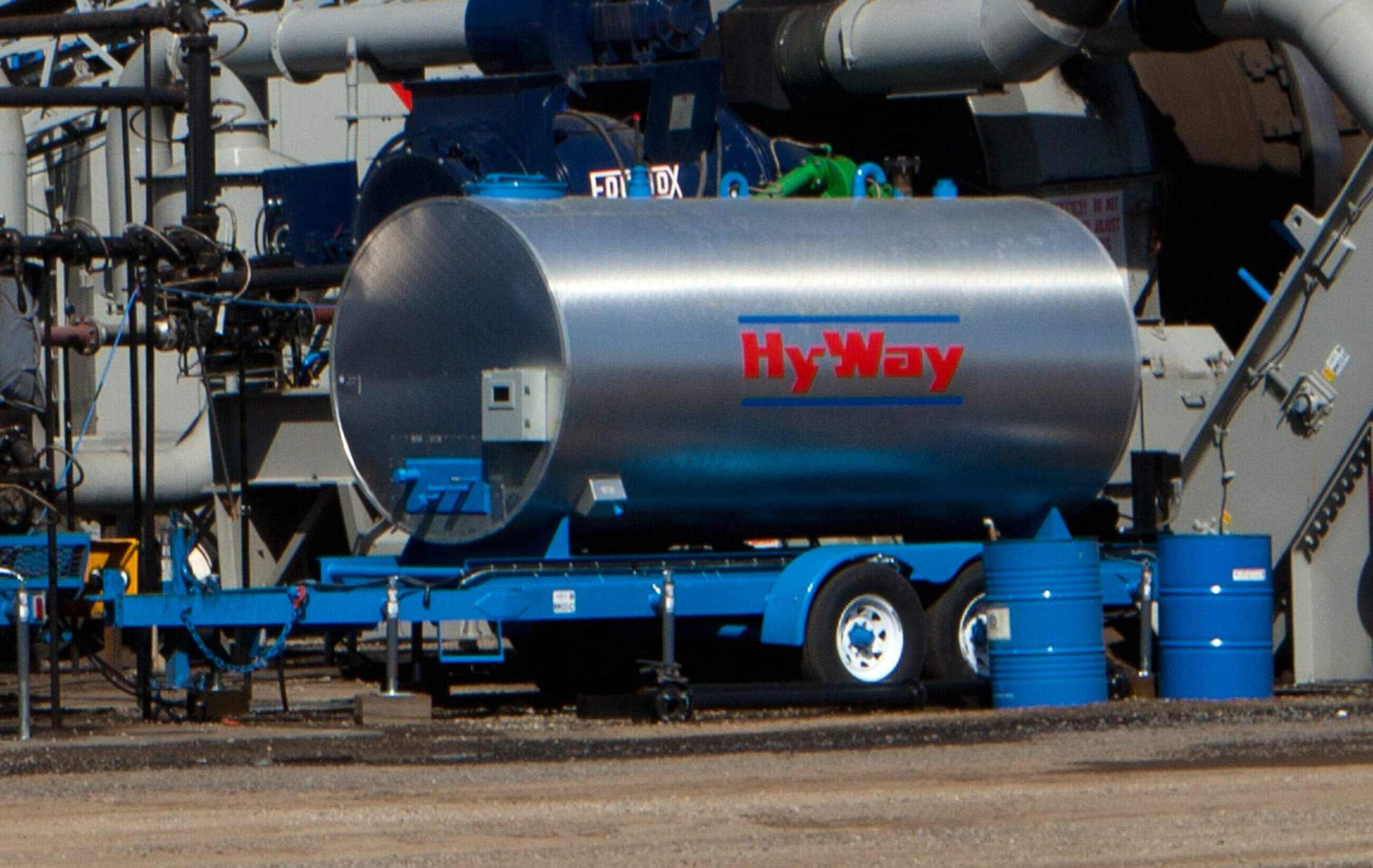 Hy Way Asphalt Storage Tanks Construction Equipment Gencor Piping Diagram Twin Oil Click To View Larger