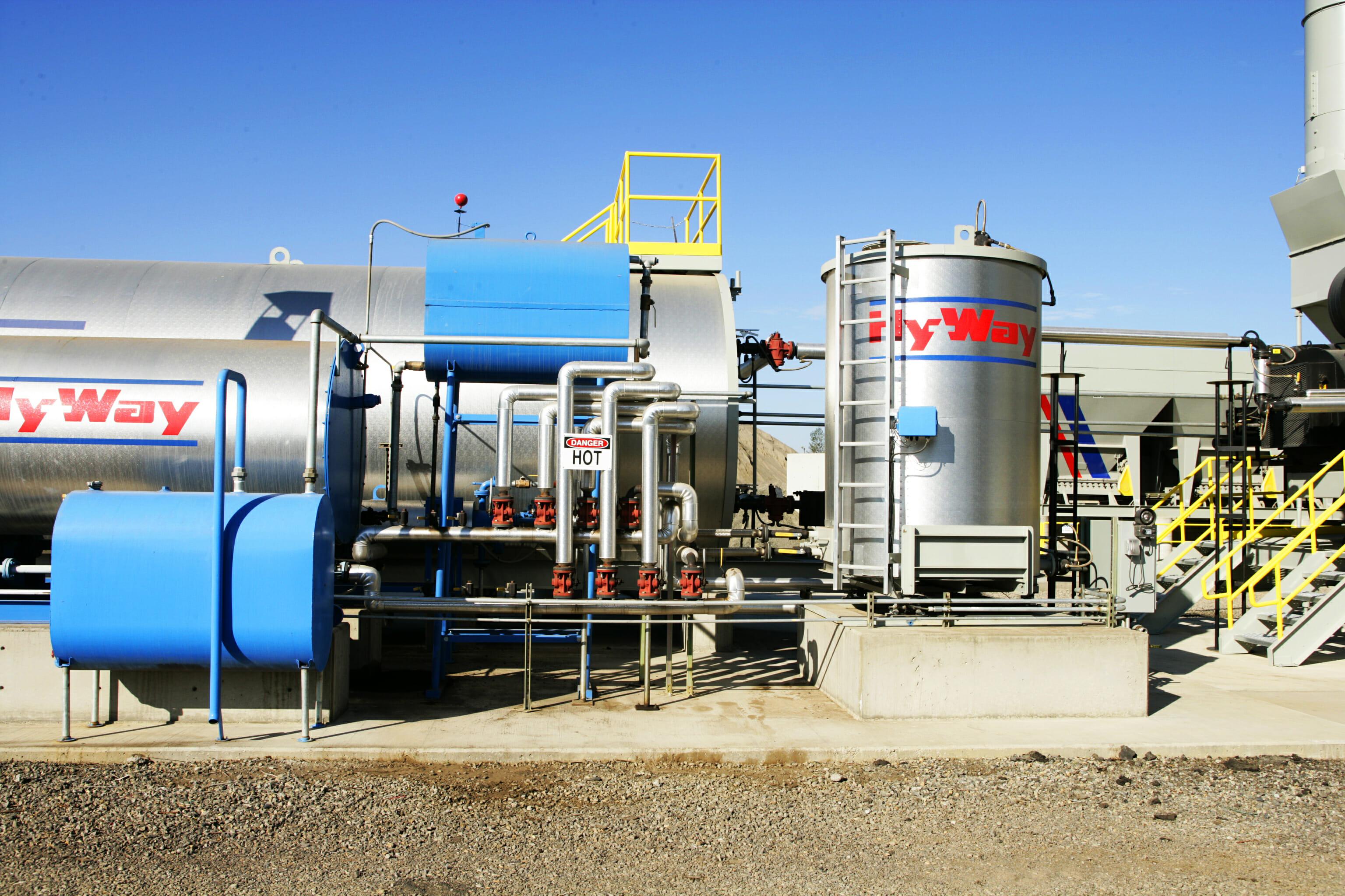 Calibration Asphalt Storage Tank Slider