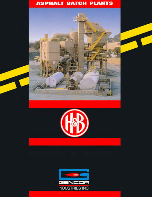 H&B Asphalt Batch Plants
