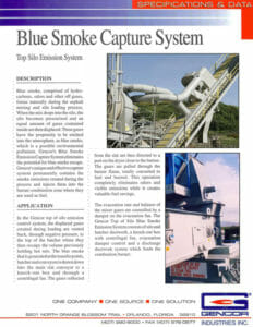 Gencor Blue Smoke Capture System