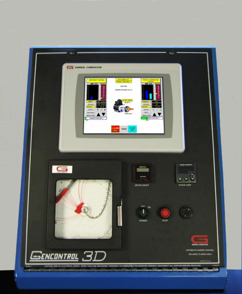 Gencor GEN 3D® Digital Burner Control