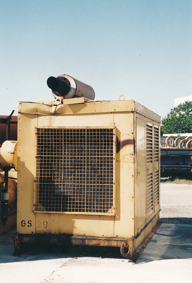 Gencor Used Equipment Caterpillar Gen Set