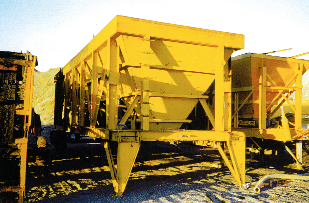 Gencor Used Equipment load out system with stacker