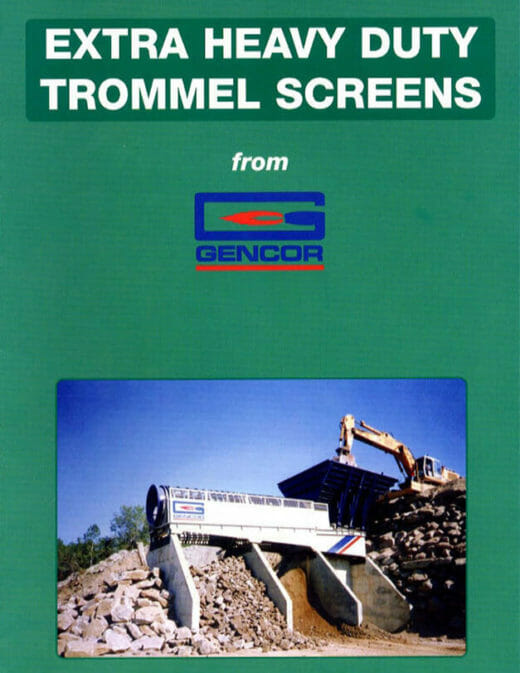 Gencor Extra Heavy Duty Trommel Screens