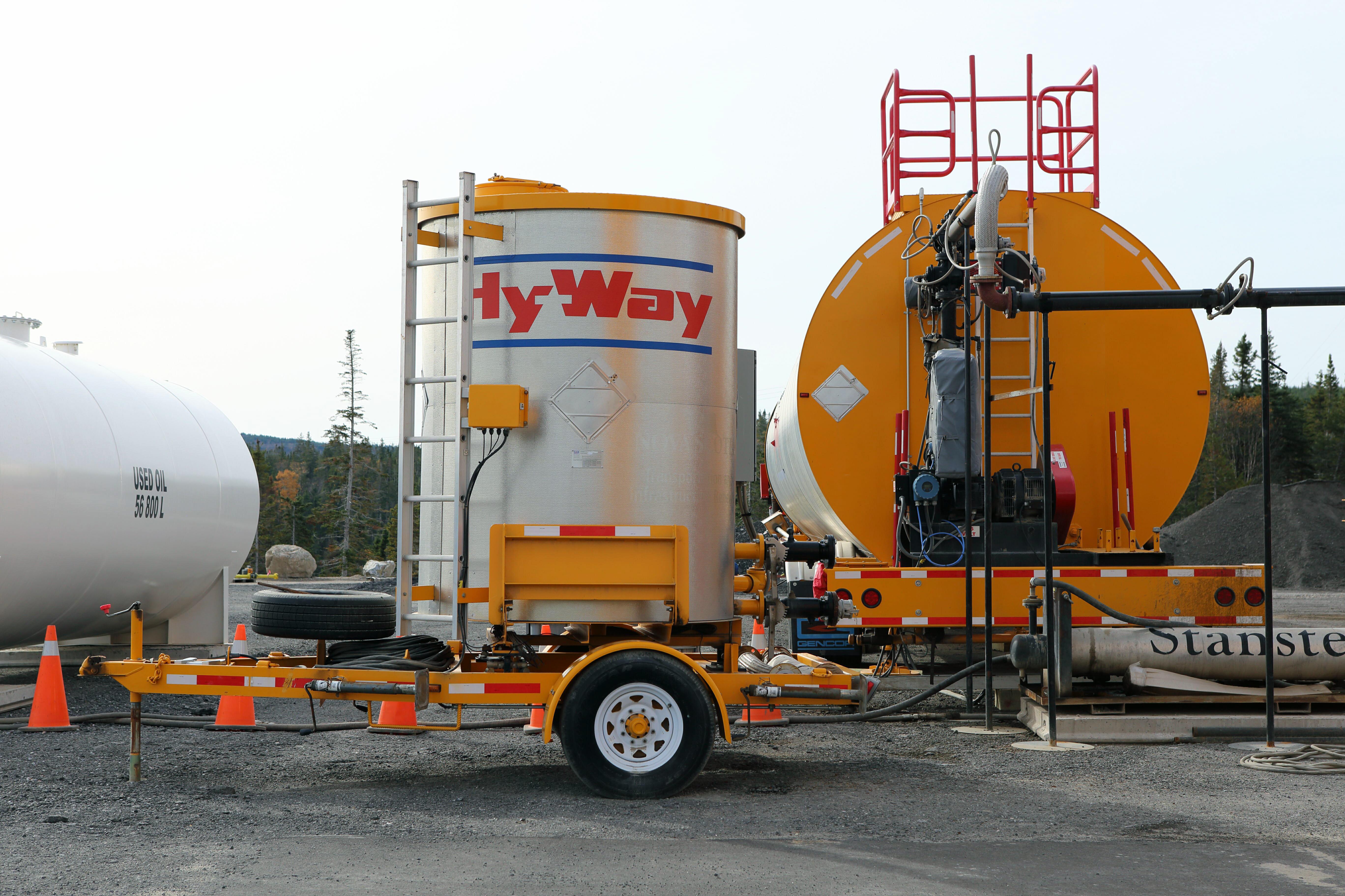Hy-Way Asphalt Storage Tanks | Construction Equipment