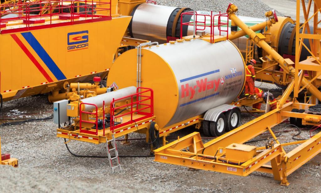 Gencor Additive Asphalt Storage Tank Additive Asphalt Storage Tank
