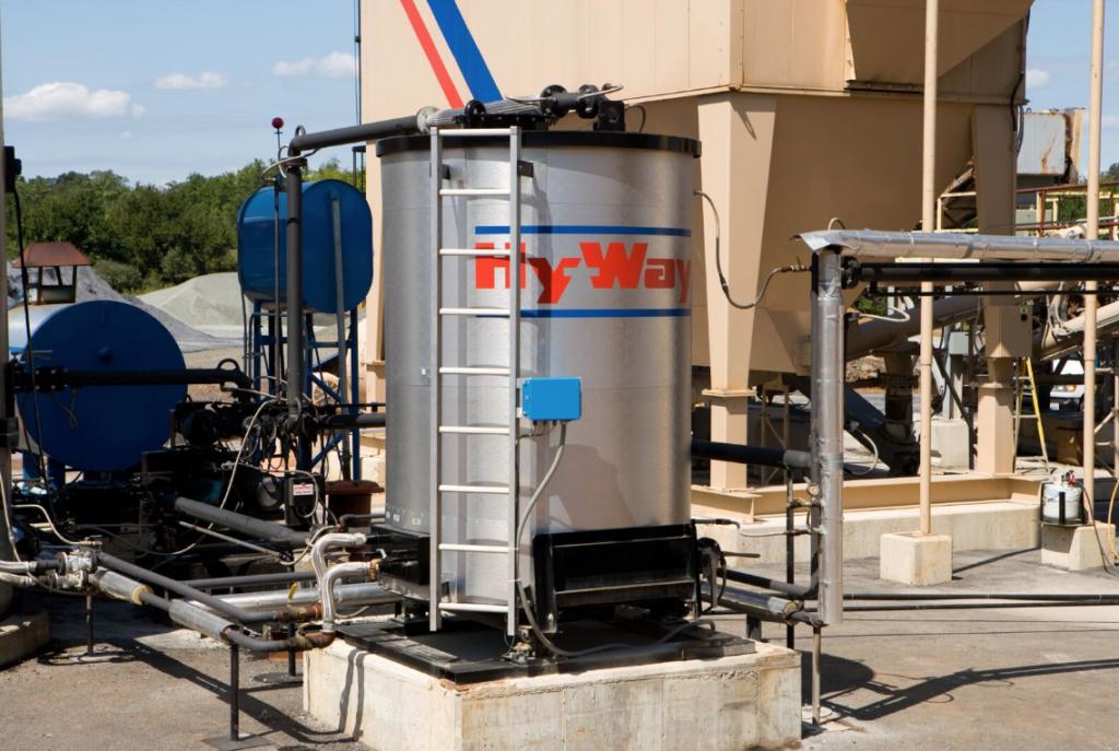 Gencor Calibration Asphalt Storage Tank