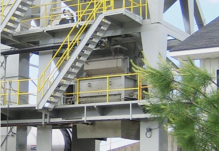 Gencor Batch Plant Pugmill Mixer