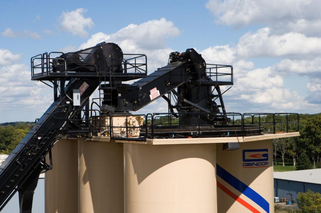 Gencor Rotary Transfer Conveyors