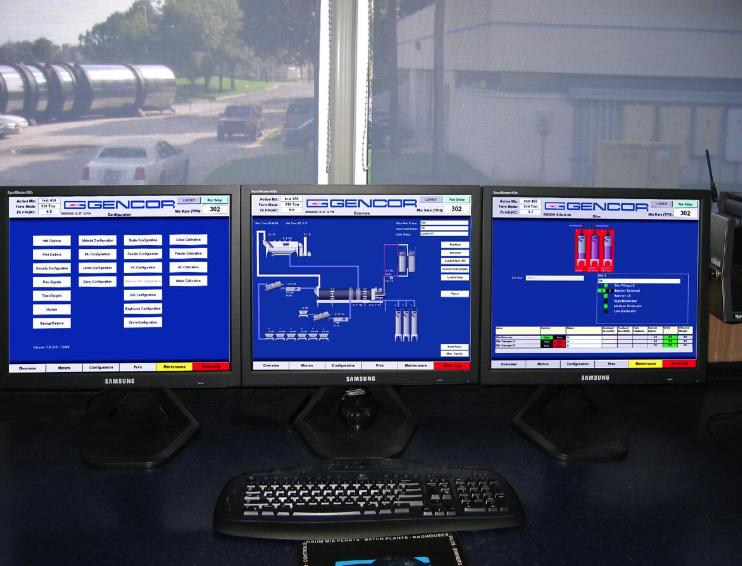 Gencor Ultralogiks® Total Plant Control System