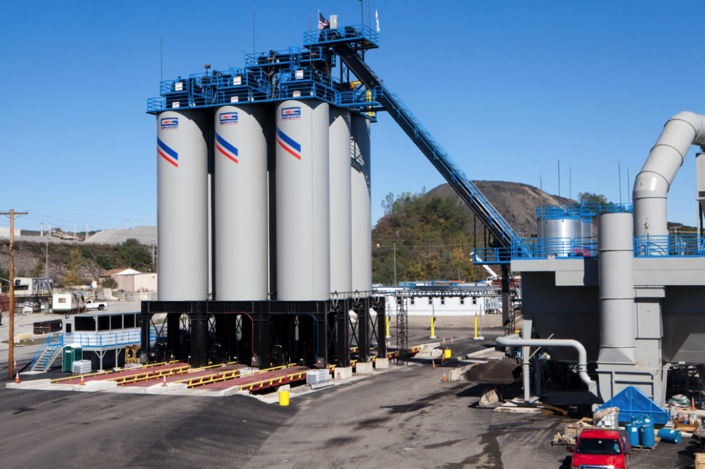 Gencor Hot Mix Silo