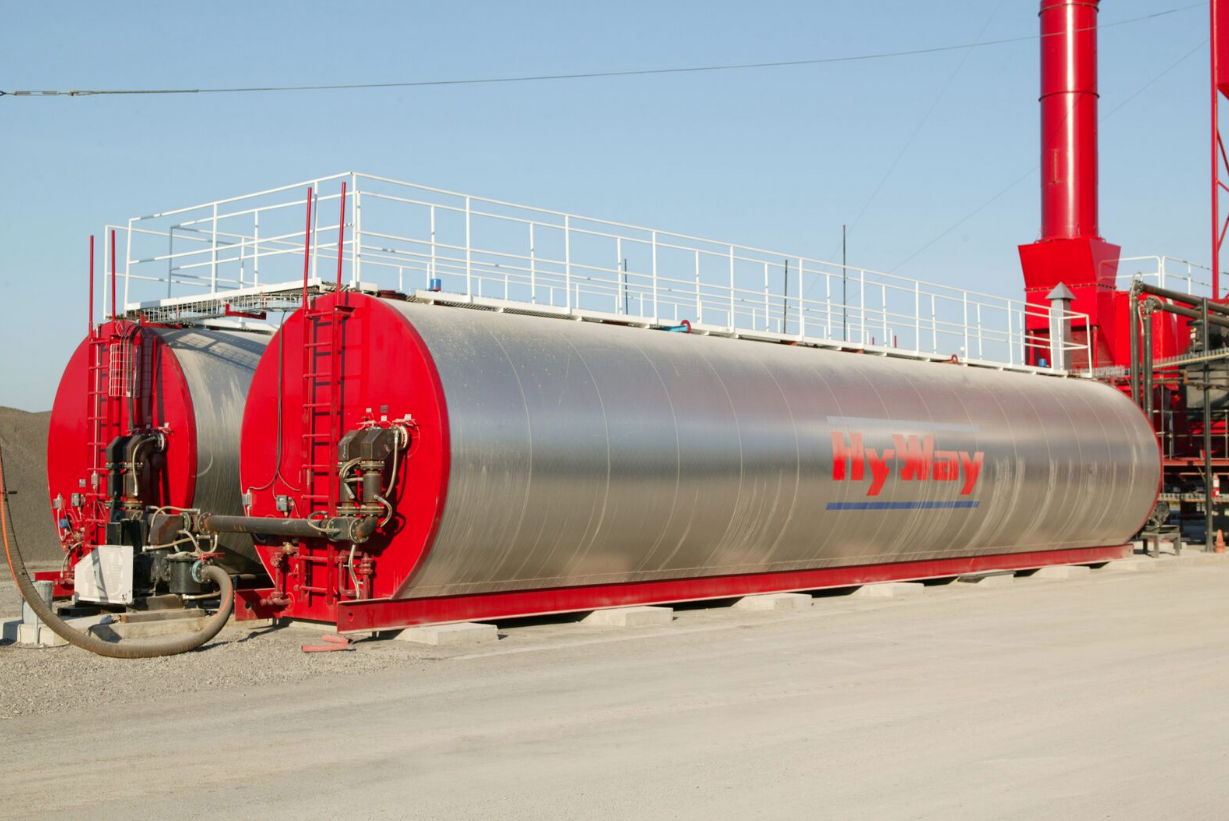Hy Way Asphalt Storage Tanks Construction Equipment