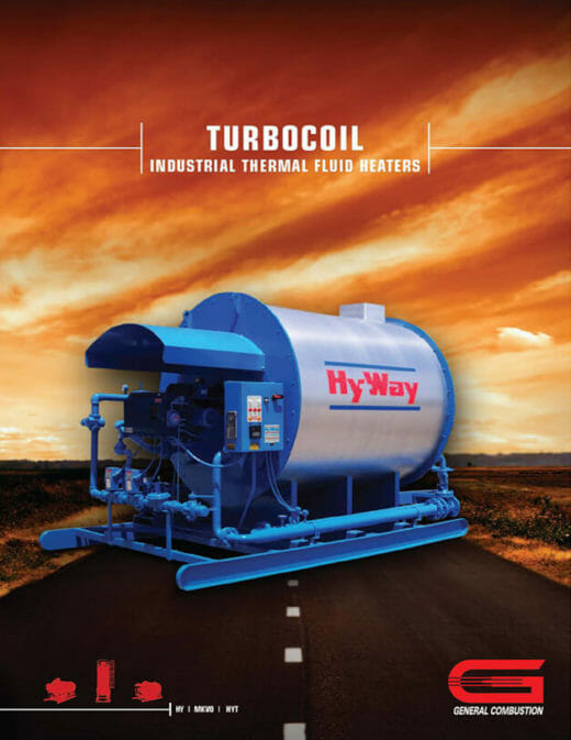Gencor Turbocoil Industrial Thermal Fluid Heaters