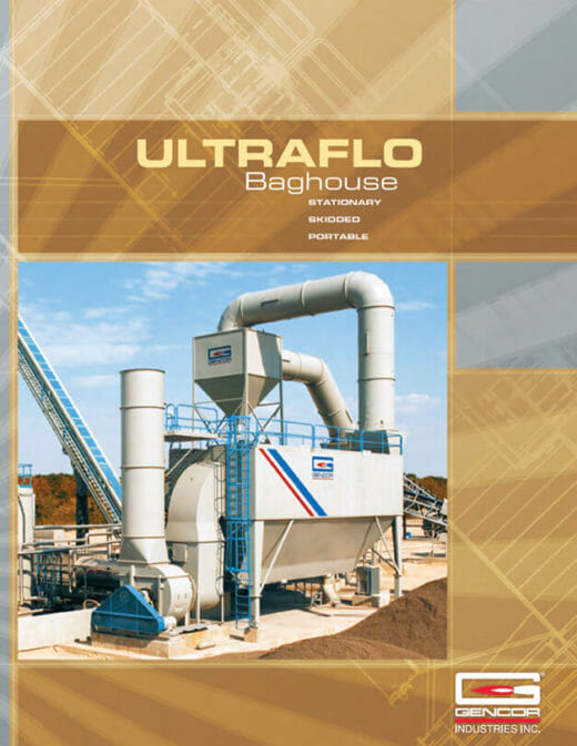 Gencor Ultraflo Baghouse