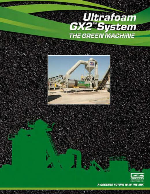 Gencor Ultrafoam GX2 Warm Mix System