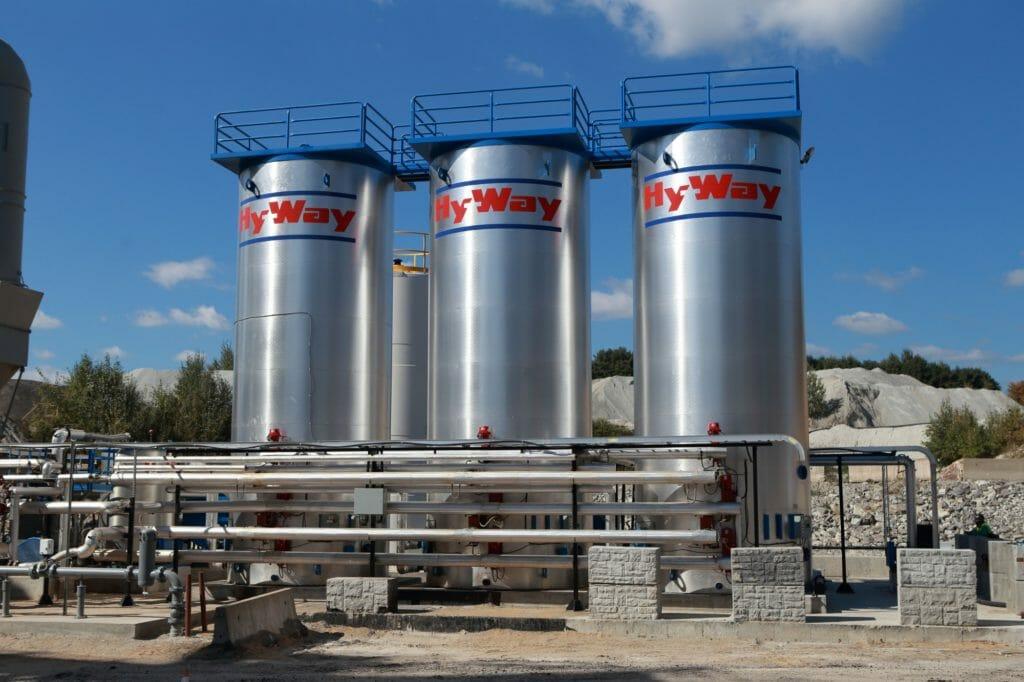 Gencor Vertical Asphalt Storage Tank