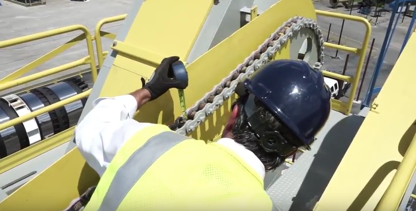 Gencor Slat Chain Adjustment