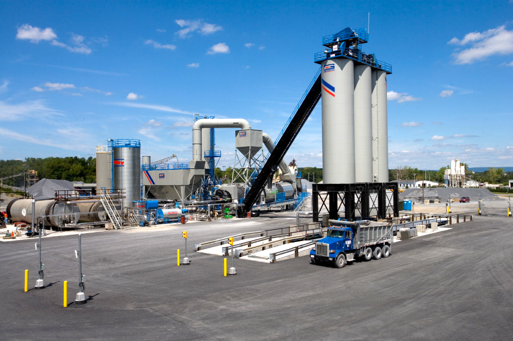 Gencor asphalt plant