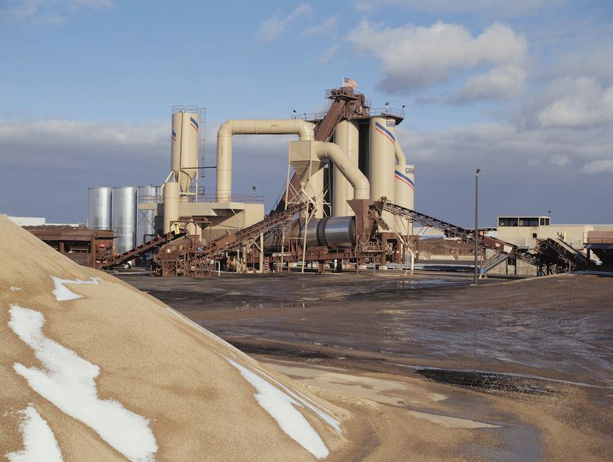 commercial asphalt maple grove MN stationary plant