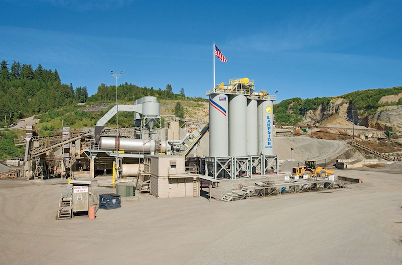 Lakeside Industries Issaquah WA Stationary plant