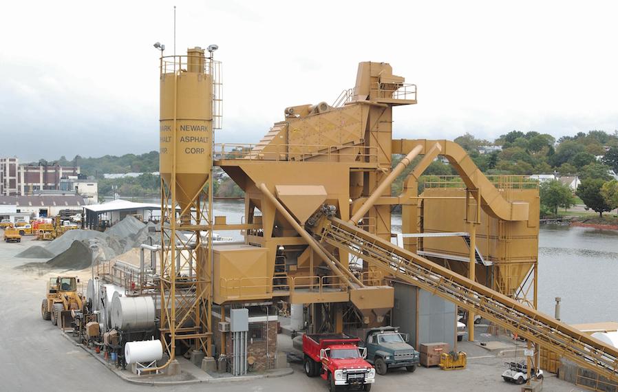 Newark Asphalt NJ batch plant