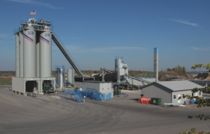 Northeast asphalt depere wi Stationary plant