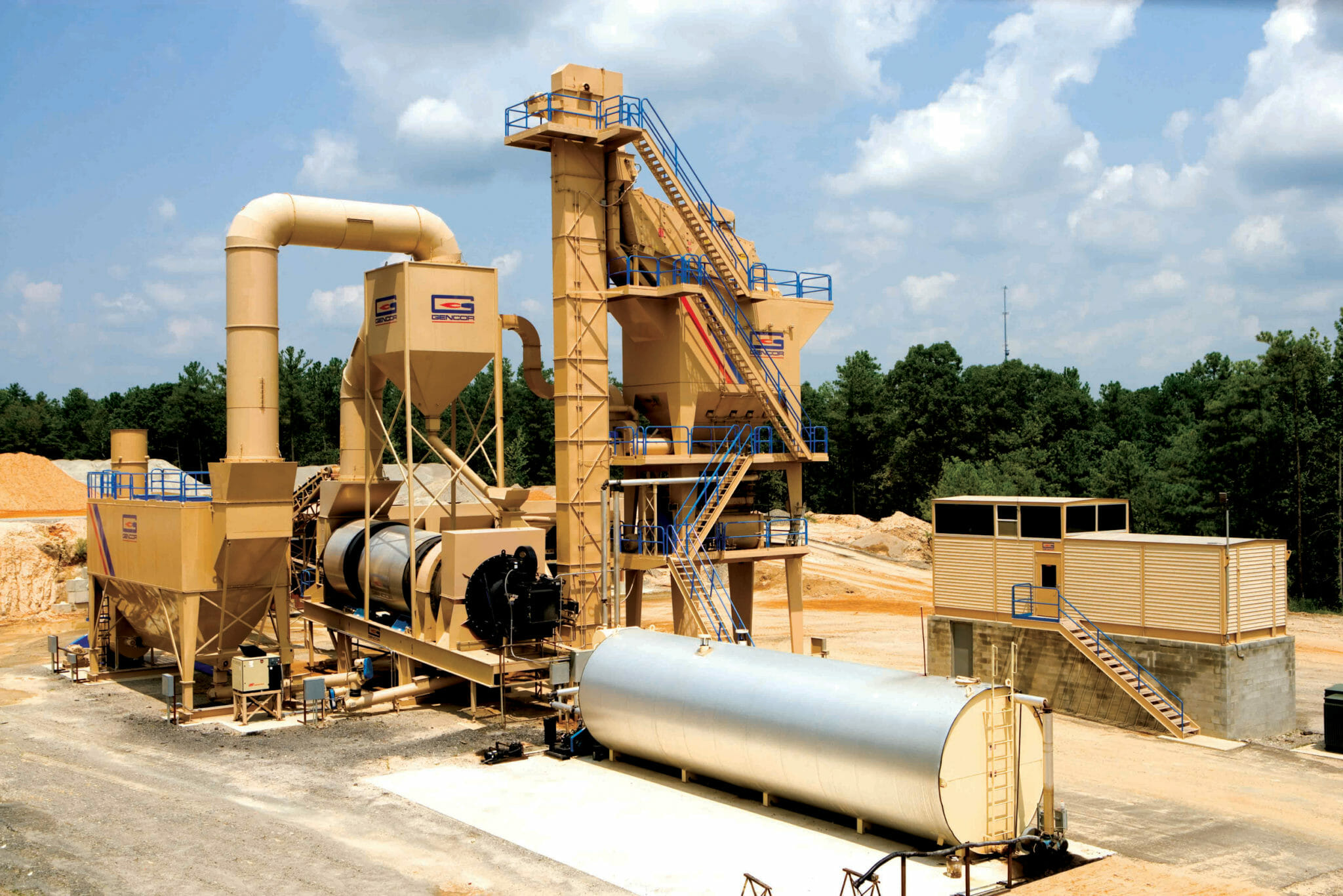 Gencor Batch Plant Riley Carthage, NC