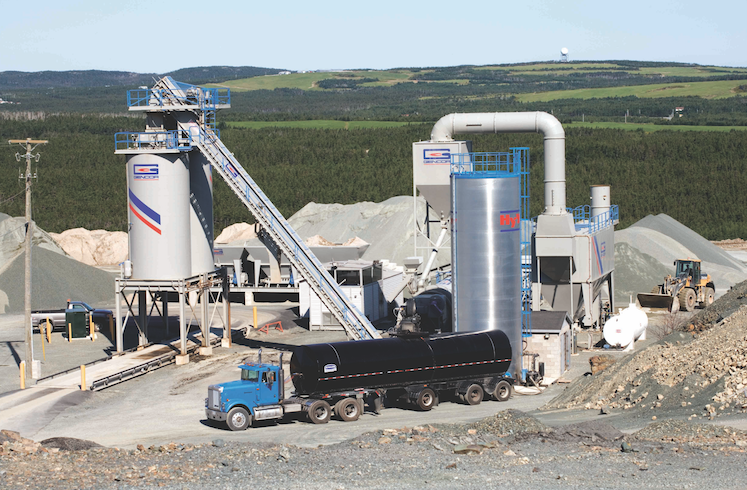 St johns nf canada Stationary plant