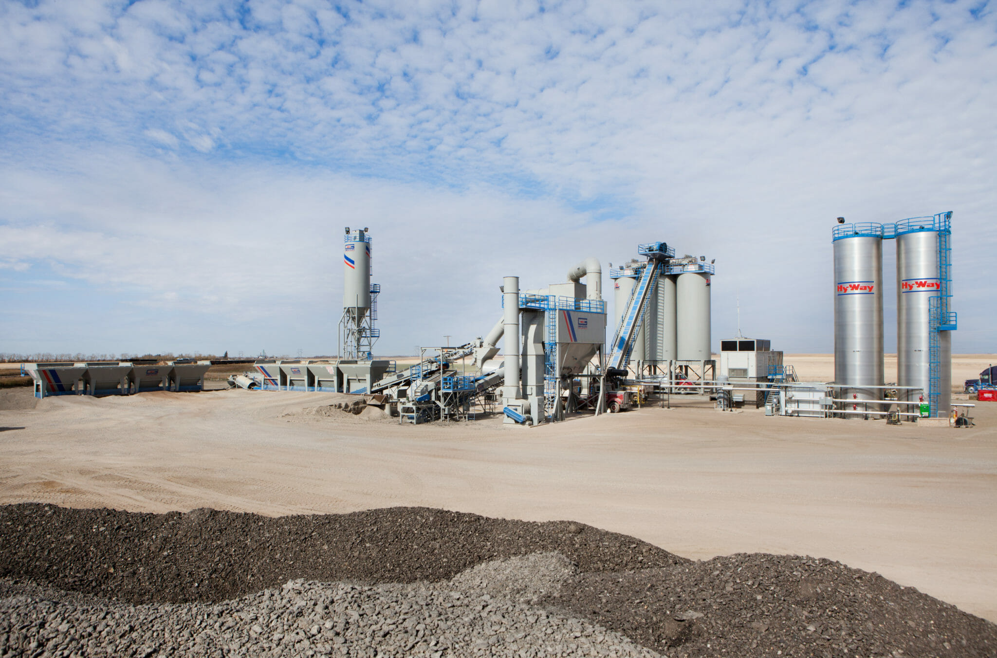 ASL Paving Saskatoon Stationary Plant