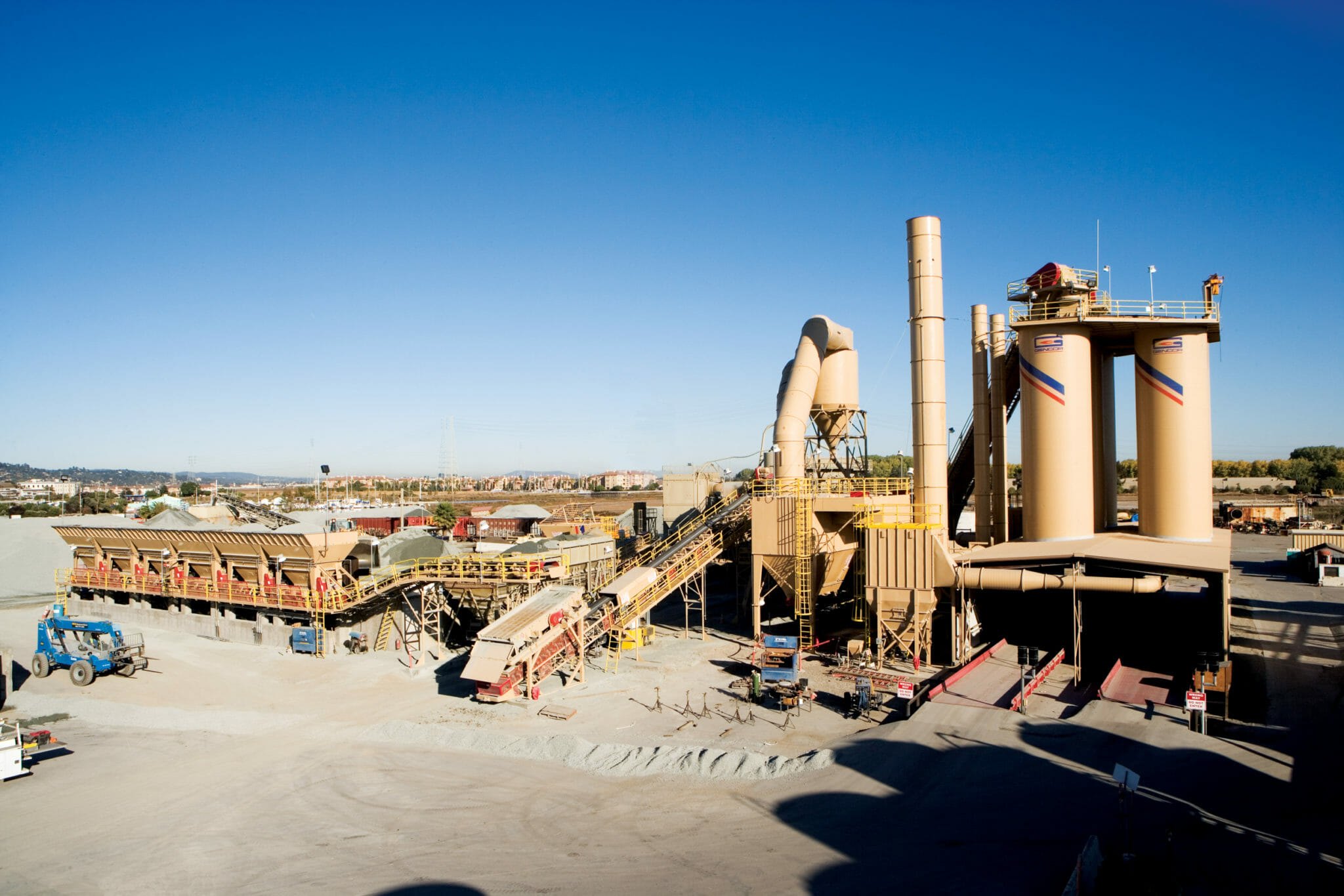 Graniterock Redwood City CA Stationary plant