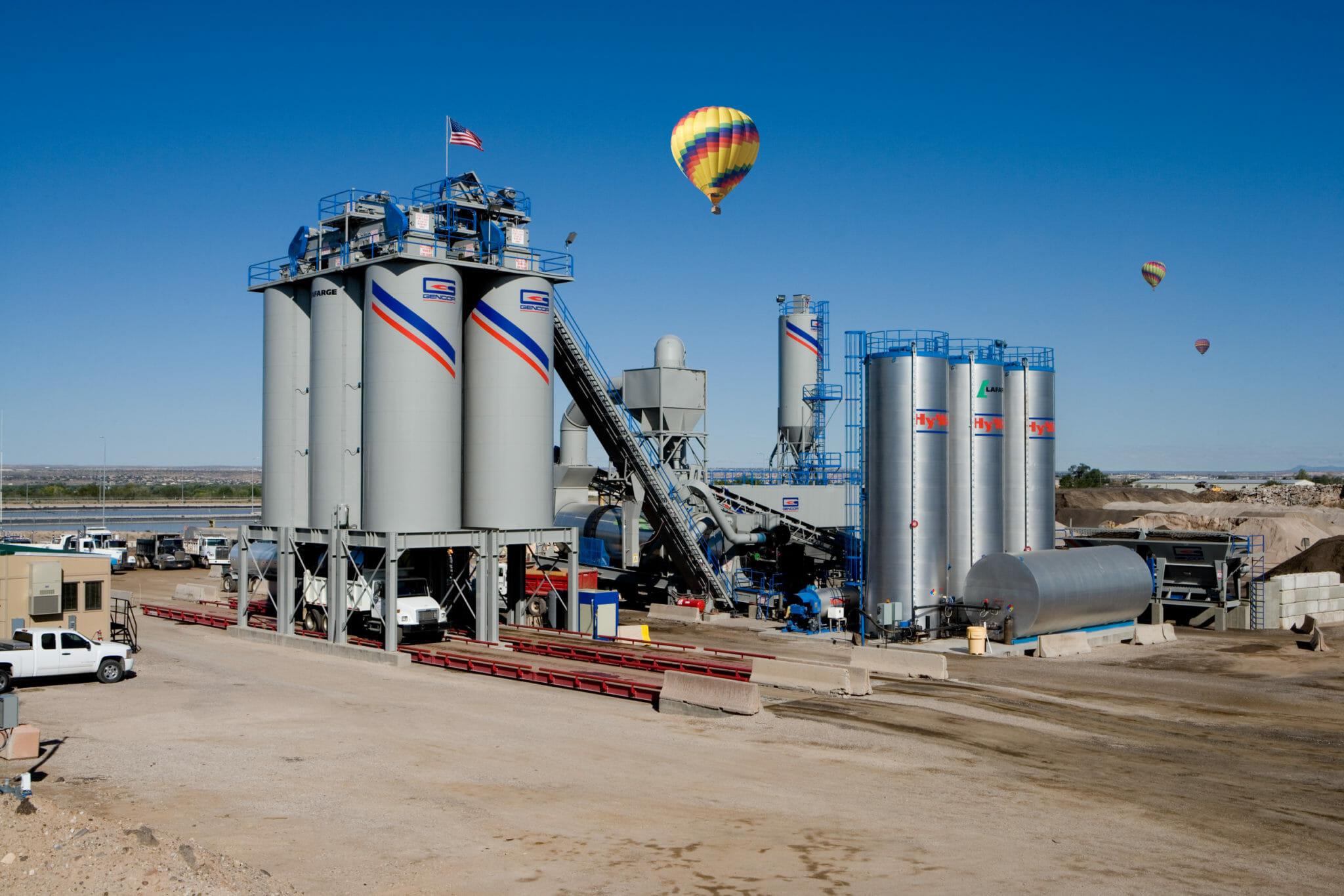 Gencor Stationary Plant Lafarge Alburquerque